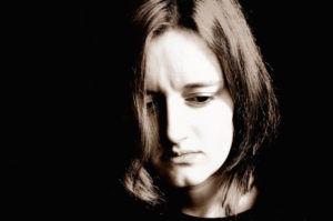"""Sad Woman"" by Jiri Hodan [Public domain], via Wikimedia Commons"