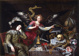 The Knight's Dream, Antonio de Pereda, 1655/Wikimedia Commons