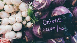 $4 onions by Milkovi Unsplash Licensed Under CC BY 2.0