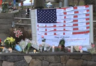 Sandy Hook Memorial Voice of America