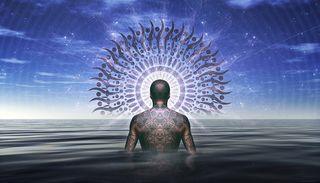 Shaman Spiritual Spirit, labeled for reuse, Pixabay