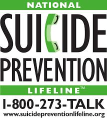 Logo of the Suicide Prevention Lifeline