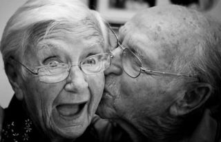 """Old People and Love""/Don't Die Get Married/Flickr"