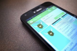 Yik Yak in the Google Play Store