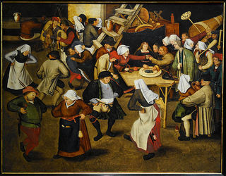 Wikipedia - Peter Brueghel the Younger - Wedding Dance
