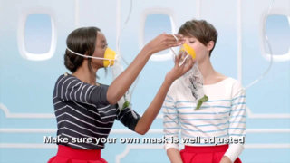 Air France safety video/YouTube