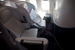 Air New Zealand's Premium Economy Cabin by Phillip Capper Flickr Licensed Under CC BY 2.0