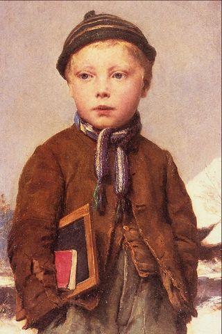 School Boy (Public Domain, {{US-1923}}