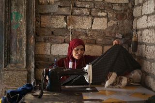 A widow who is part of the Amal project; photo used with permisssion by Global Fund For Widows