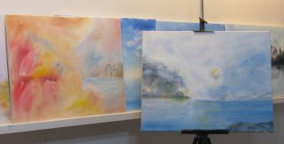 Artist's Studio, F.J. Ninivaggi, M.D.