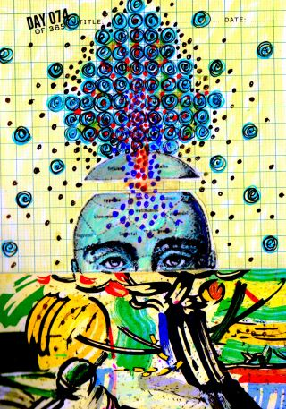© 2015 Visual Journal Entry, Cathy Malchiodi