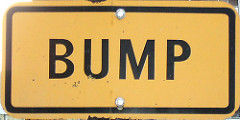 Bump by Hobvias Sudoneighm/Flickr Creative Commons/CC BY 2.0