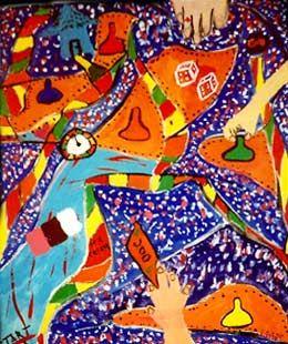 """Candyland""/Eliezer Sobel"