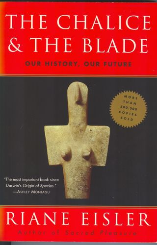 Chalice and Blade book cover, used with permission
