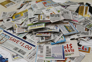 Coupon Pile by Carol Pyles Flickr Licensed Under CC BY 2.0