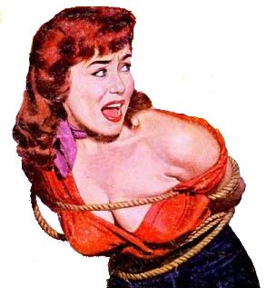 'Damsel in Distress', Gee Whiz #3 (magazine), Wikimedia