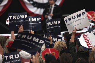 Donald Trump supporters by Gage Skidmore Flickr Licensed Under CC BY 2.0
