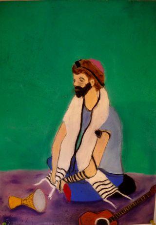 """""""Self-Portrait"""" by Eliezer Sobel"""