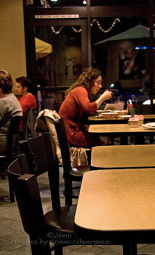 """Eating Alone,"" by Renee Silverman, flickr.com, Creative Commons"