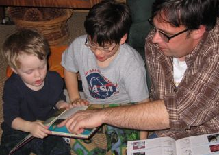 Family Reading Hour,  wikipedia, used with permission