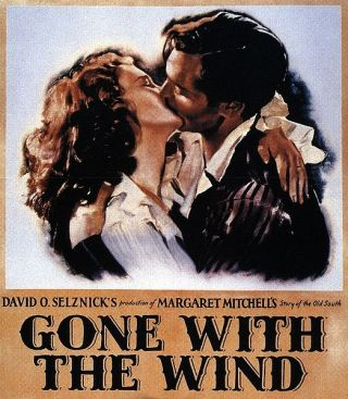 Film poster for Gone with the Wind