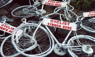 Ghost Bike - the beginning by velo_city Flickr Licensed Under CC BY 2.0