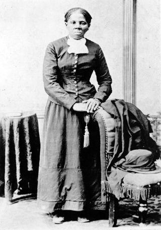 Harriet Tubman photo, public domain