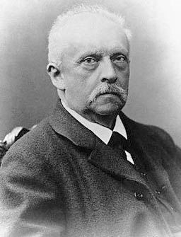 Hermann von Helmholtz.  from Wikipedia Commons public domain