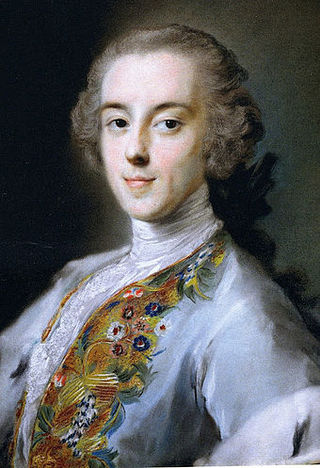 Walpole by Rosalba Carriera, circa 1741.