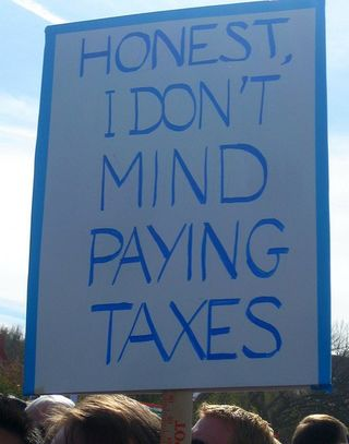I dont mind paying taxes by FutureAtlas Flickr Licensed Under CC BY 2.0