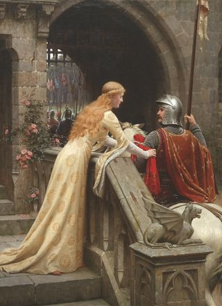 """God Speed""/Edmund Blair Leighton/Public Domain"