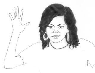 Drawing by Elizabeth Wagele