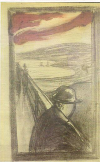 FIGURE 3. Edvard Munch, Despair  Thiel Gallery, Stockholm. Reproduced with permission.