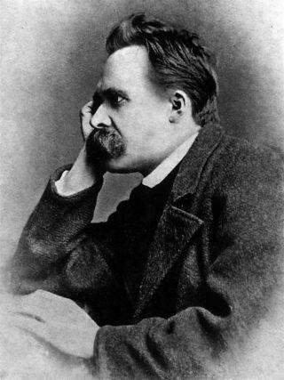 """""""Nietzsche1882"""" by Gustav-Adolf Schultze (d. 1897) - Nietzsche by Walter Kaufmann, Princeton Paperbacks, Fourth Edition. ISBN 0-691-01983-5. Licensed under Public Domain via Wikimedia Commons"""