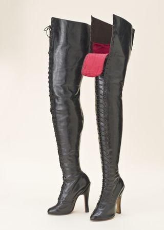 Pair of Woman's Fetish Boots, Wikipedia Commons