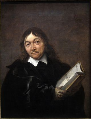 Portrait of Rene Descartes by Jan Baptist Weenix