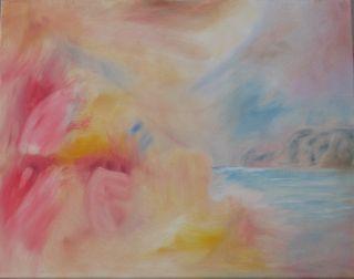 """""""Resplendent Sunrise"""", oil, F.J.Ninivaggi"""