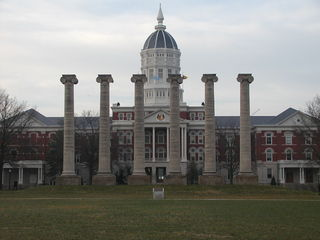 Iconic columns of the University of Missouri in Columbia--Wikimedia Commons