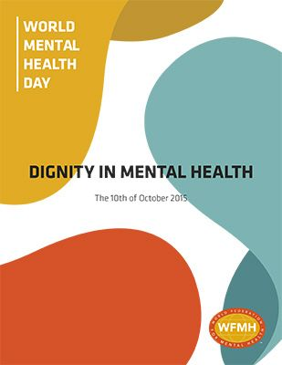 WORLD MENTAL HEALTH DAY IS A TRADEMARKED PROJECT OF THE WORLD FEDERATION FOR MENTAL HEALTH