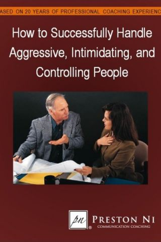 Learn to be assertive not aggressive