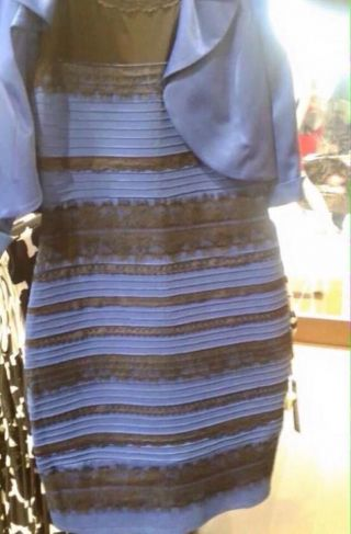 http://gawker.com/what-color-is-this-goddamn-dress-1688330170