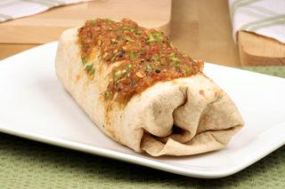 © Rafer | Dreamstime.com - Fresh Mexican Burrito Photo