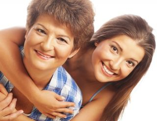 © Juiceteam | Dreamstime.com - Happy Mature Mother And Adult Daughter Photo