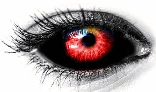 Eye, Black, Reds, Female, Red Color, labeled for reuse, Pixabay