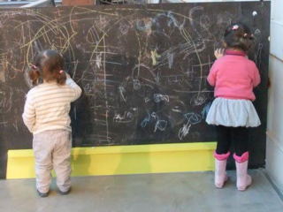 Sharing the chalk, sharing the chalkboard/Roni Beth Tower