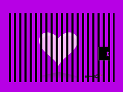 Heart, Pink, Purple, Prisoner/Pixabay