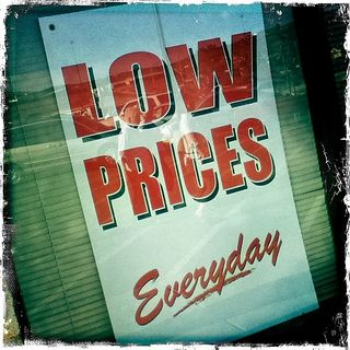 low prices everyday by Taro the Shiba Inu Flickr Licensed Under CC BY 2.0