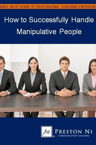what makes a person manipulative