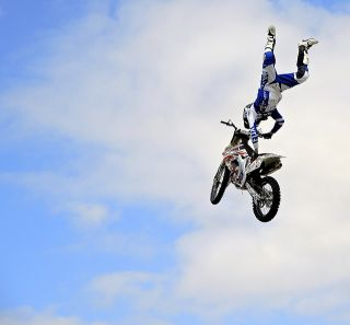 Crazy Motorcycle Stunt