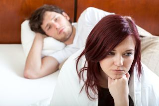 Celibacy in a sexually active relationship